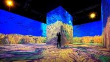 WATCH: Panoramic view of Van Gogh paintings at 'Winter at Tantora' festival