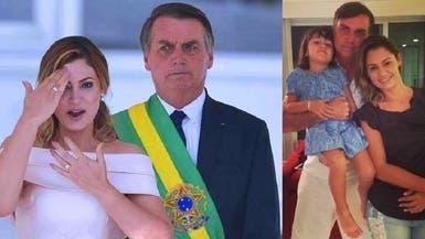 شاهد زوجة رئيس البرازيل الجديد تلقي خطابا بلغة الإشارة