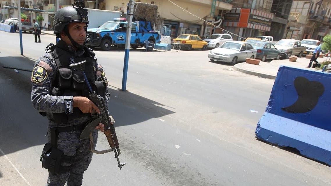 Iraqi security Baghdad (AFP)