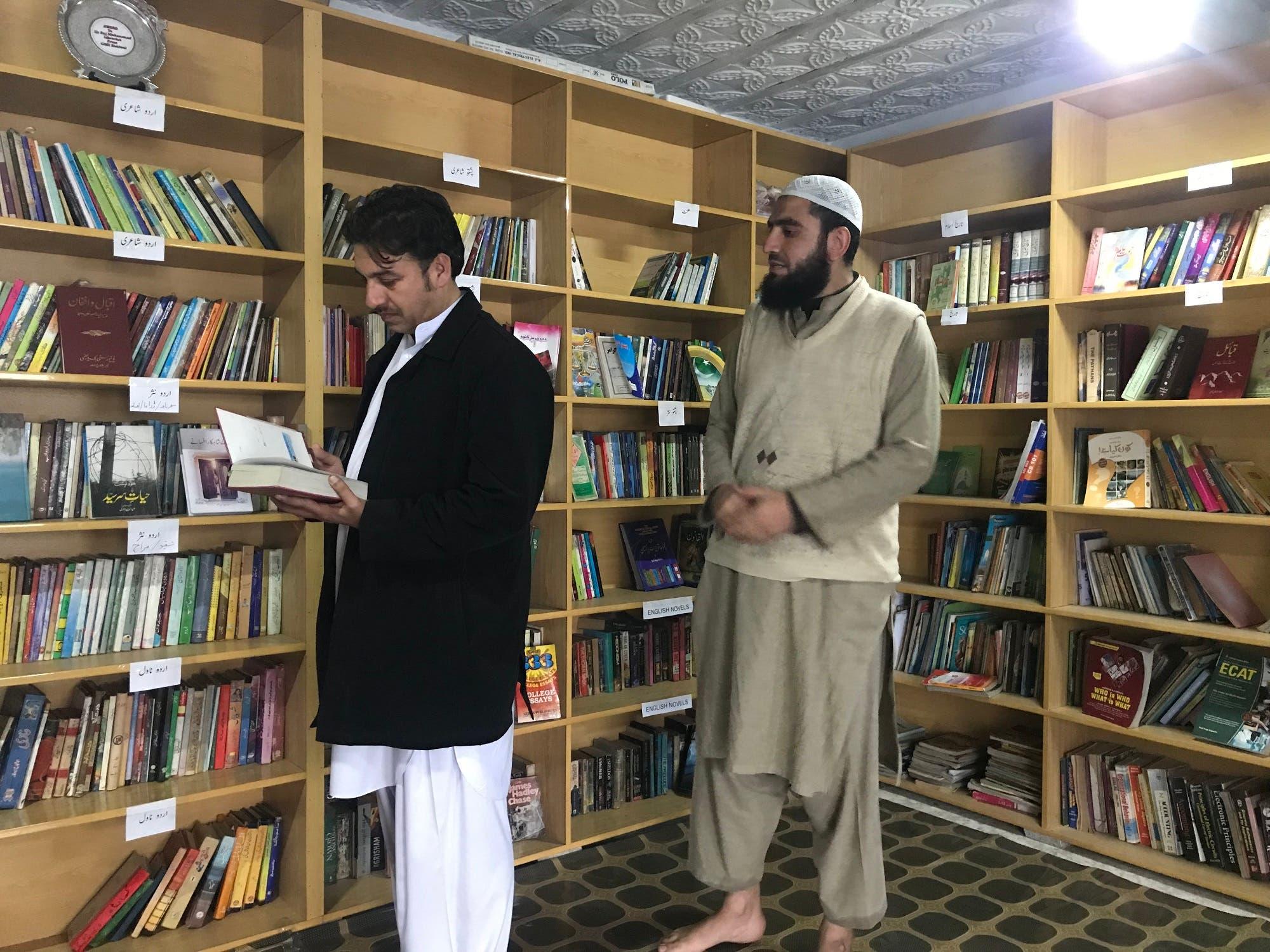 Former Parliamentarian, Qaiser Jamal, visiting Darra Adam Khel. (Supplied)