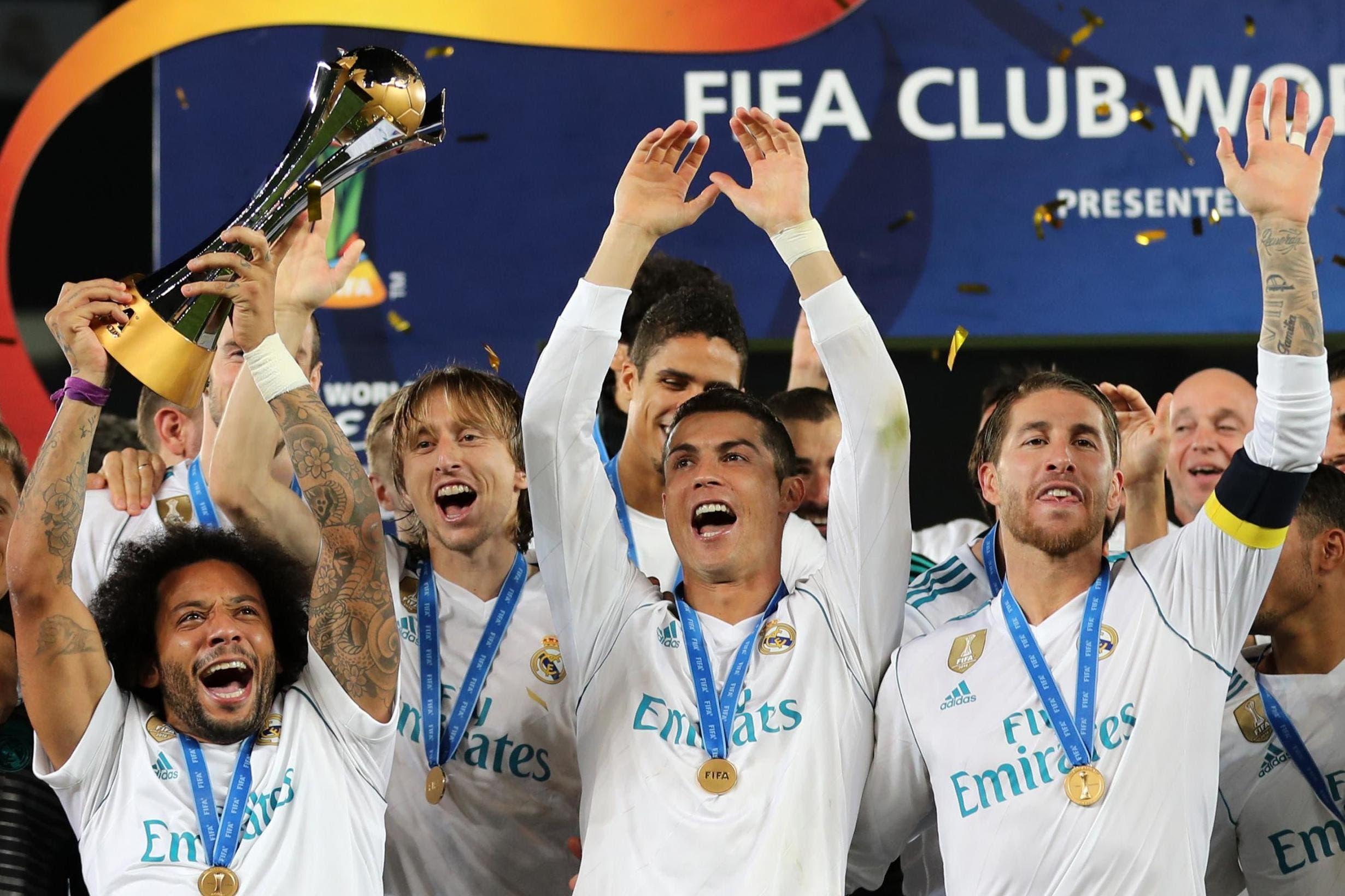 تتويج ريال مدريد في عام 2017