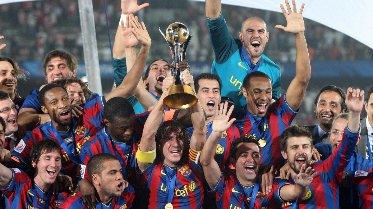 تتويج برشلونة في عام 2009