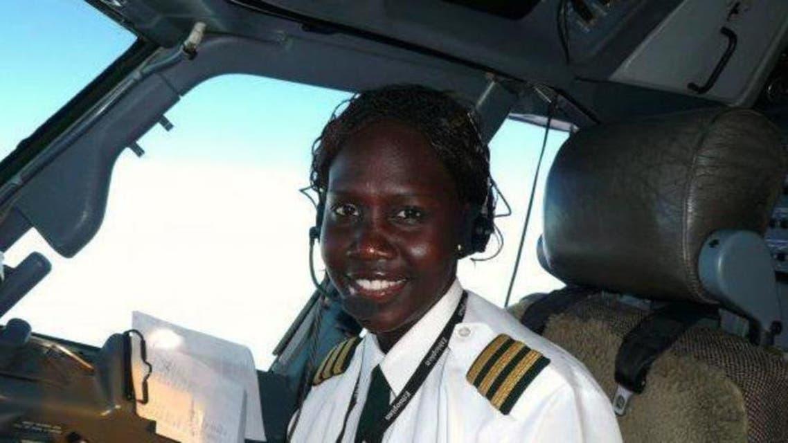 Sudan: 1st female pilot