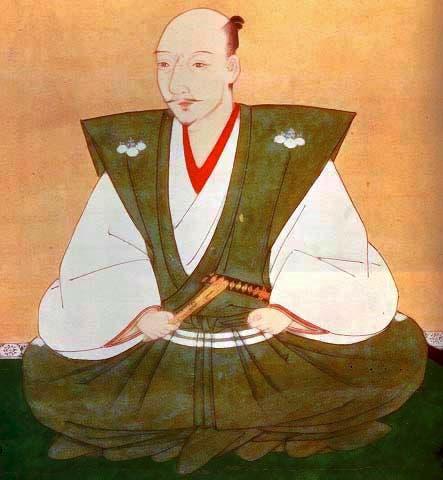 لوحة تجسد الدايميو أودا نوبوناغا