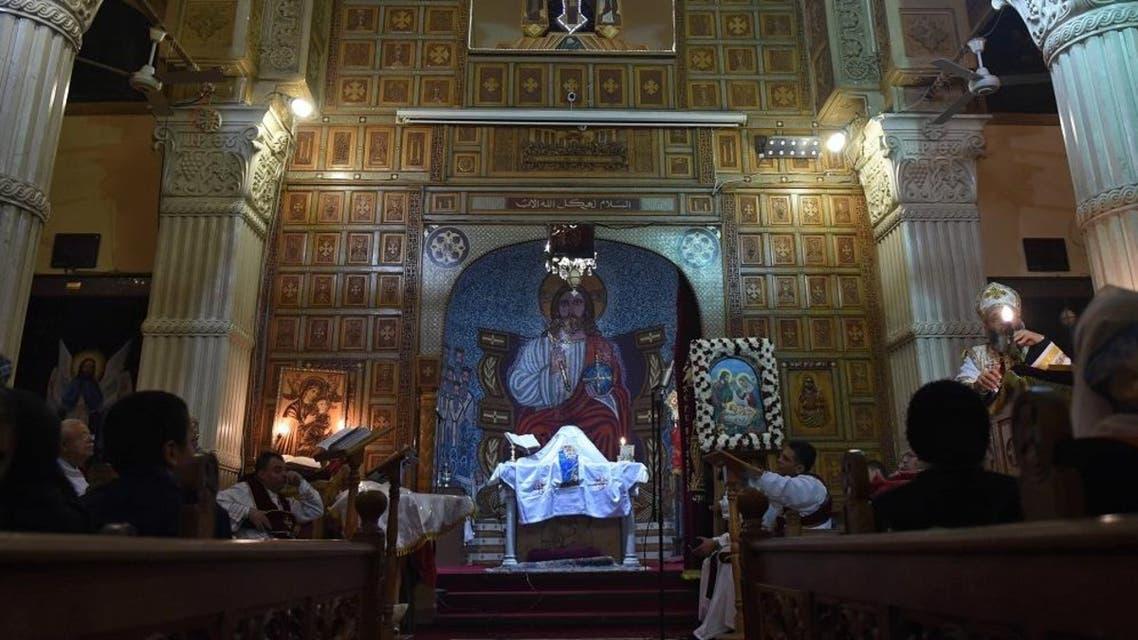 Egypt Coptic Christmas. (AFP)