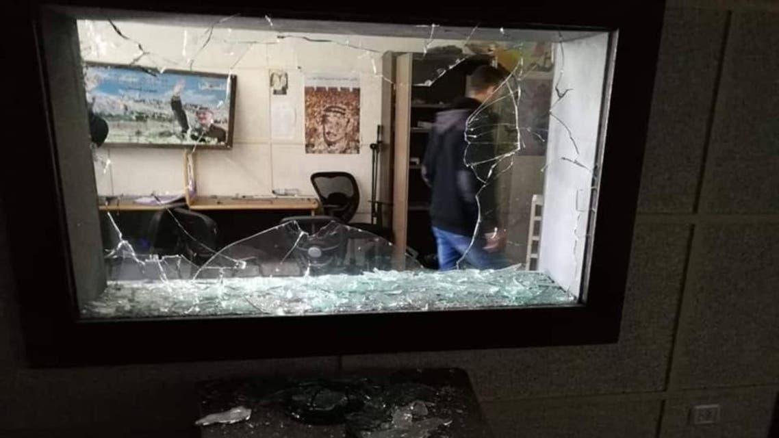 غزہ میں ٹی وی چینل پر حملہ