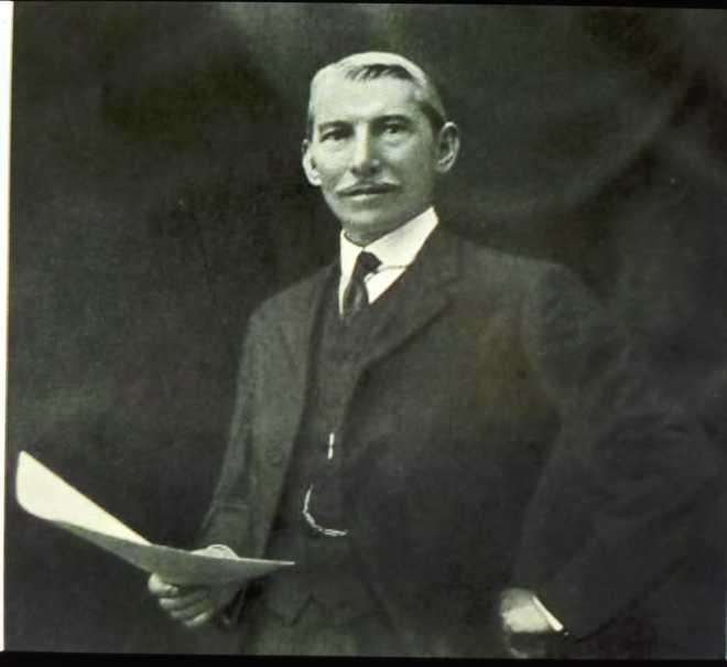 صورة للحاكم السابق للبنجاب مايكل أودوير