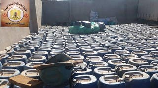 العثور على مصنع متفجرات ضخم تابع لداعش جنوب ليبيا