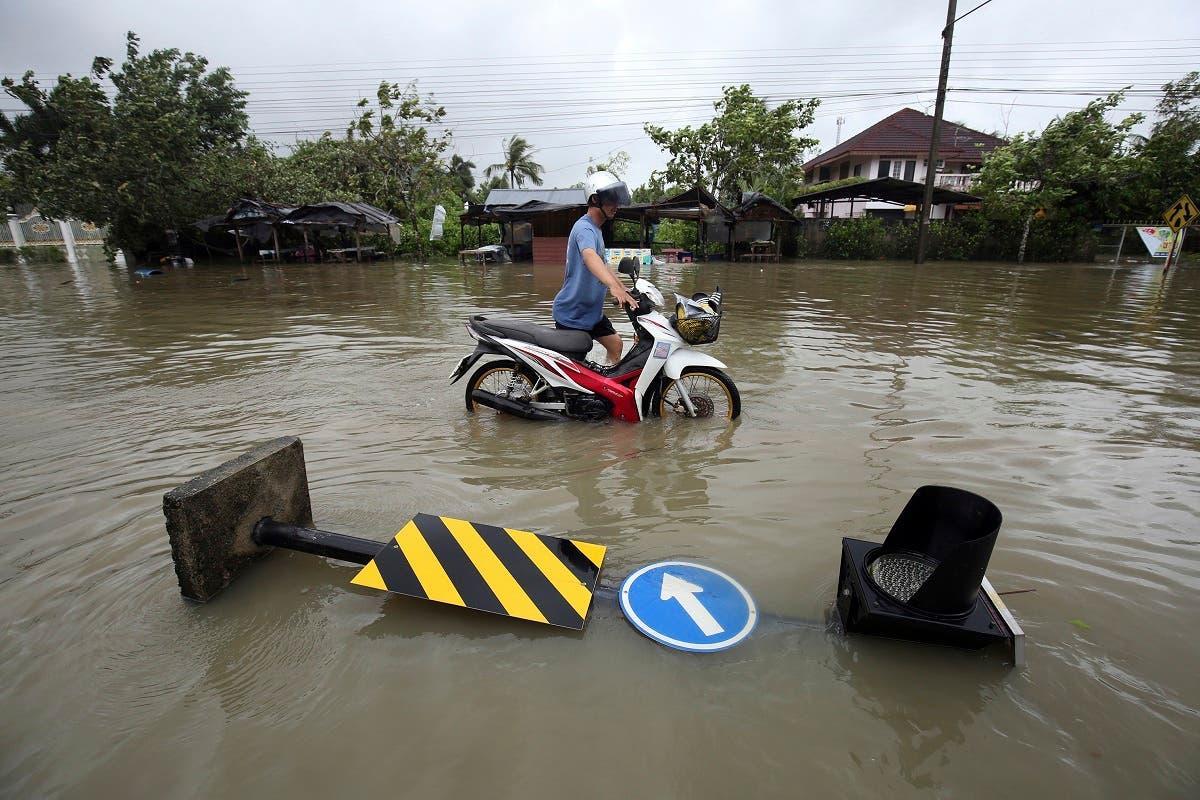 Thailand storm. (AP)