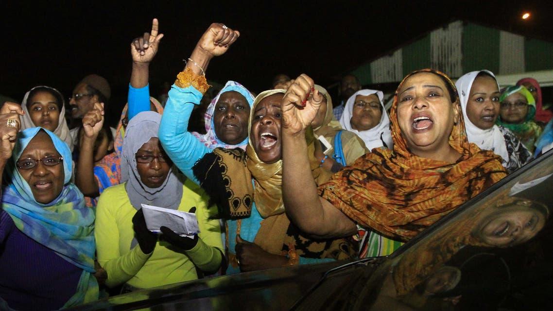 جانب من التظاهرات - السودان