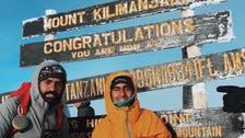 الشاب الطعيمي يصعد رابع أعلى قمة في العالم