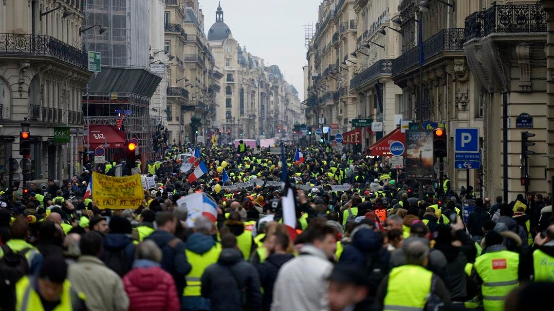 France yellow vest protests (AFP)