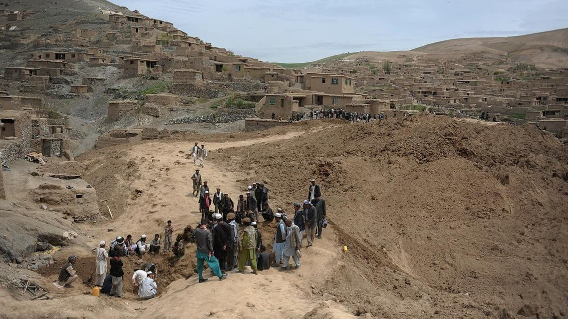 Afghanistan landslides (AFP)