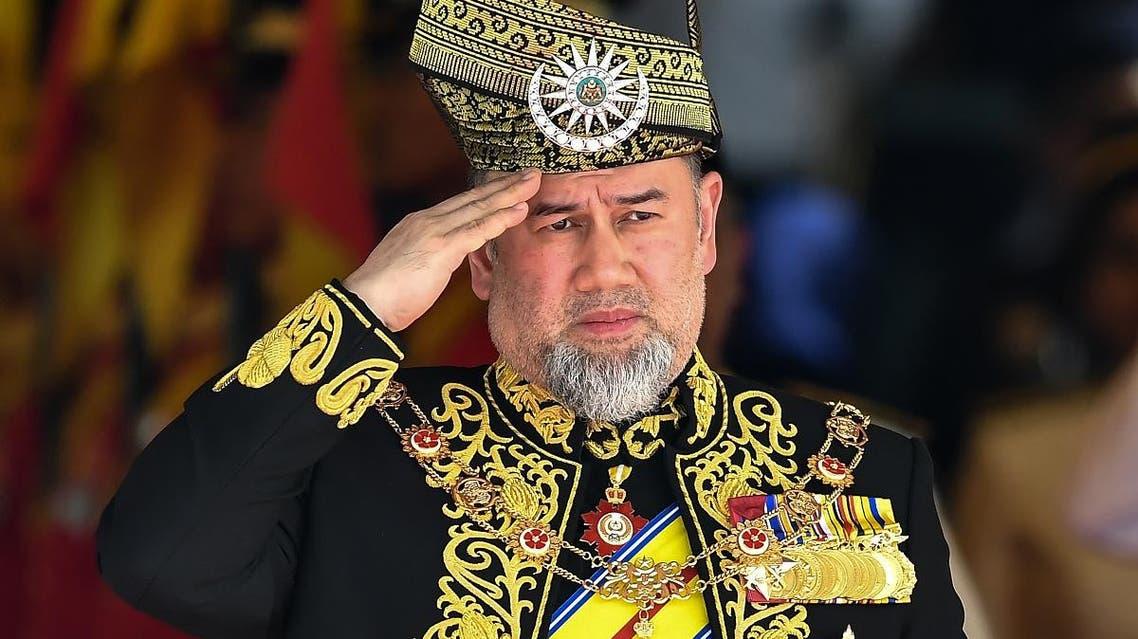 Malaysia king Sultan Muhammad V (AFP)