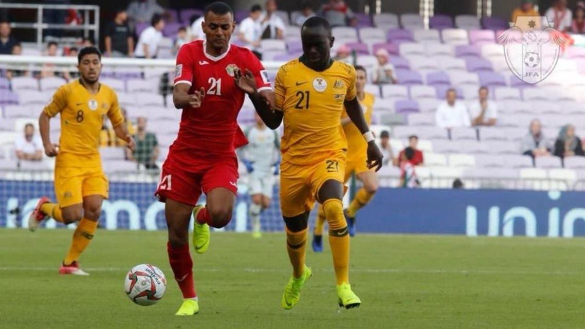 جام ملتهای آسیا: اردن استرالیا را با یک گل شکست داد
