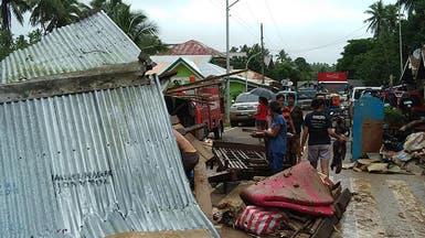 126 قتيلاً حصيلة عاصفة تضرب الفلبين