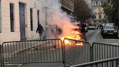 """نيران أمام مكتبها.. سفيرة السويد في فرنسا: """"أين الشرطة"""""""