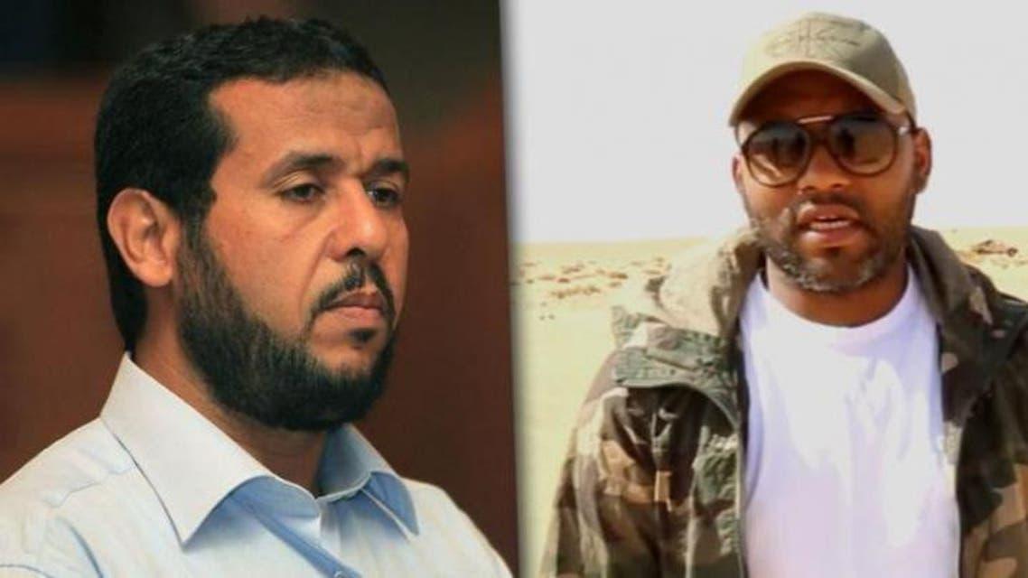 ابراهيم الجضران و عبد الحكيم بلحاج