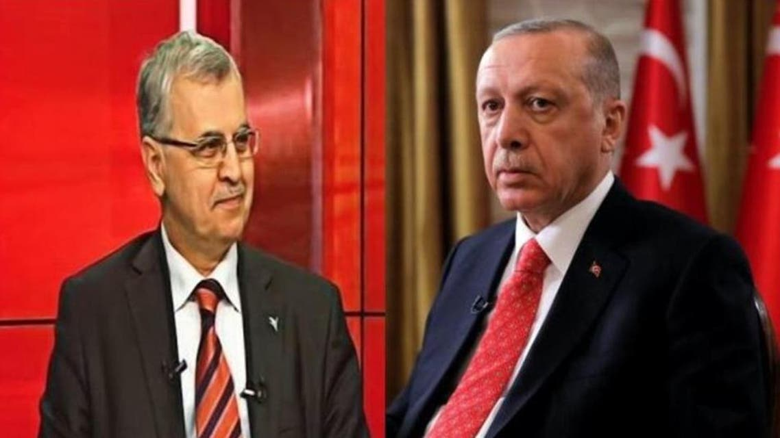 Ahmet Akgunduz and erdogan. (Supplied)