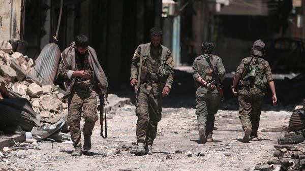 مقاتلون أكراد مدعومون من أميركا في شمال سوريا (أرشيفية)