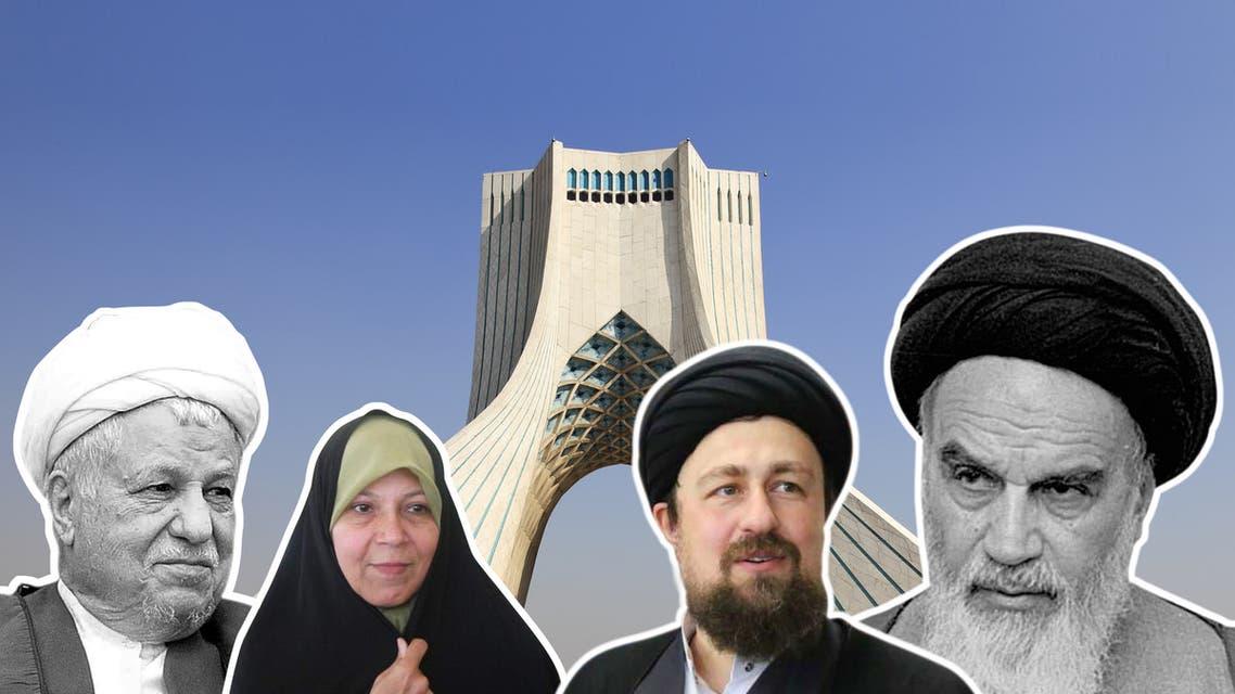 أبناء مؤسسي نظام إيران