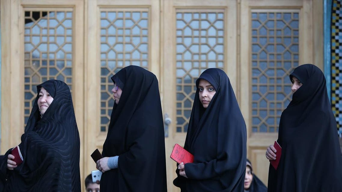 Iran hijab. (AFP)
