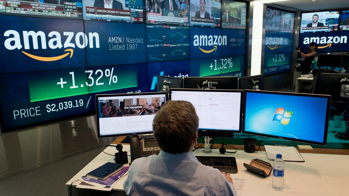 Amazon said its net income surged more than tenfold during the summer of 2018 from a year earlier. (File photo: AP)