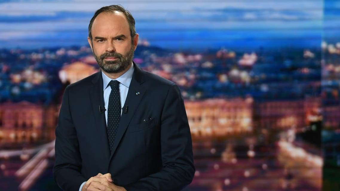 France PM Edouard Philippe (AFP)
