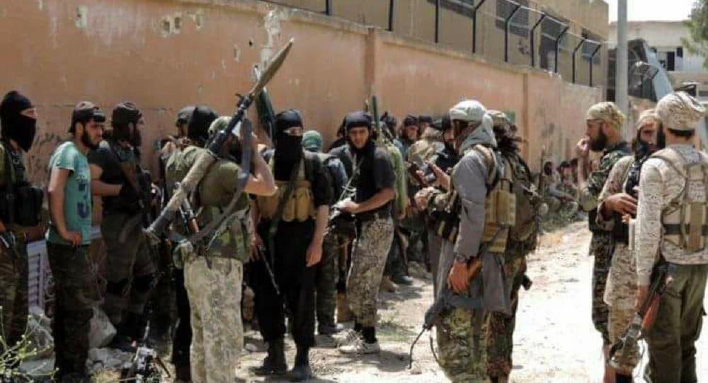 مقاتلون من جبهة النصرة في إدلب (أرشيفية)
