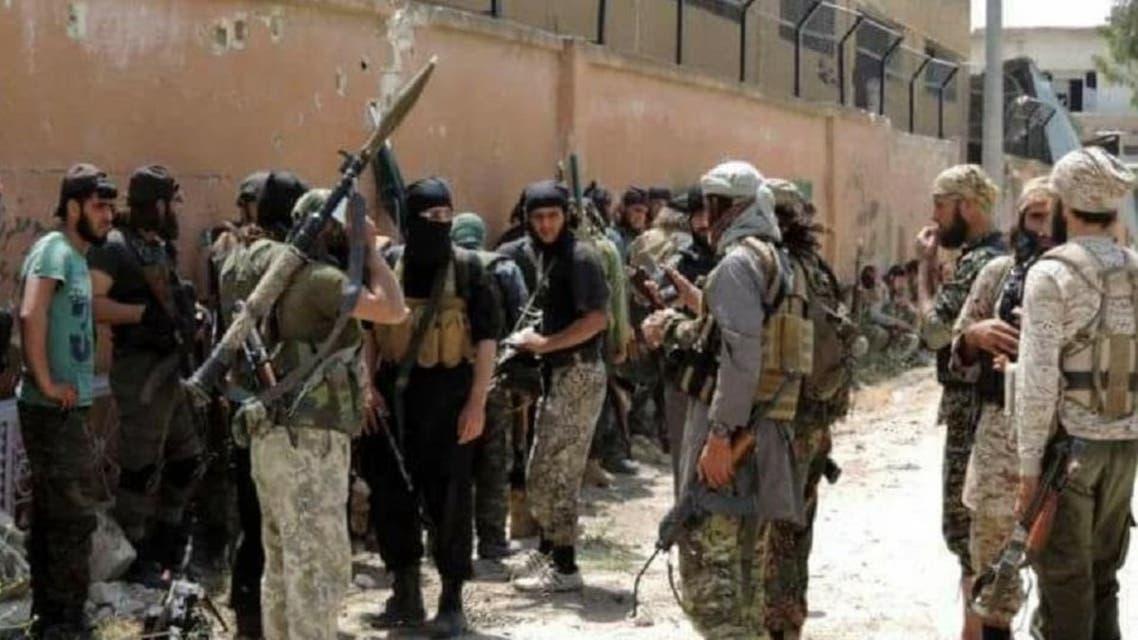 مقاتلون من جبهة النصرة في إدلب