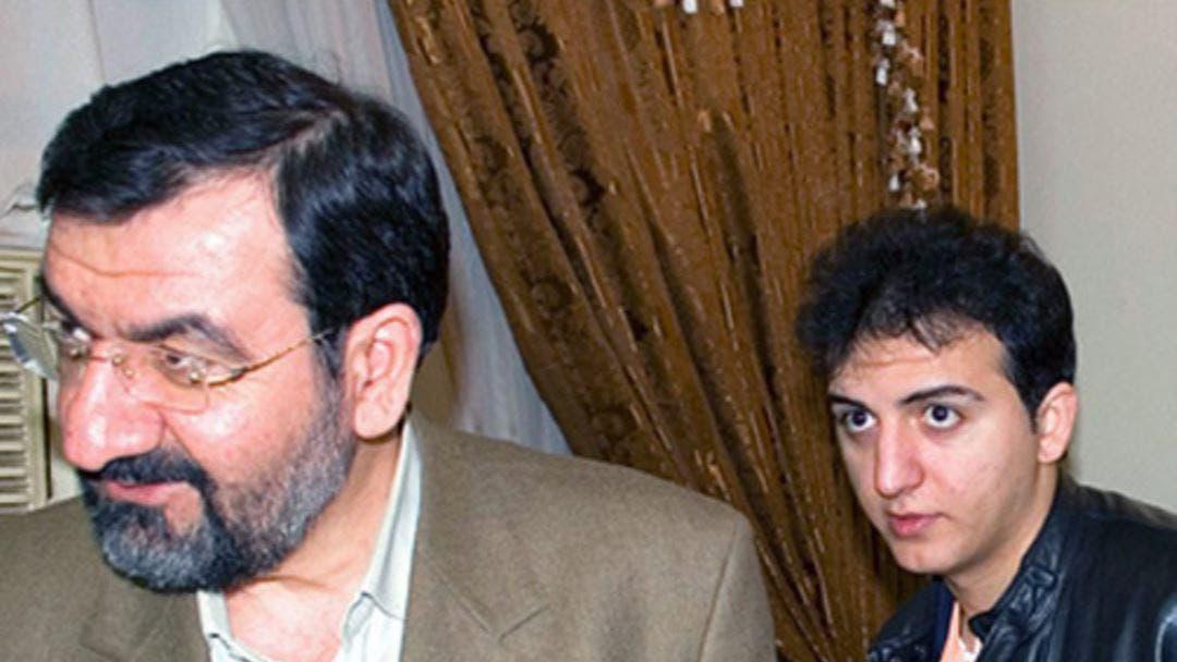 محسن رضائي ونجله أحمد