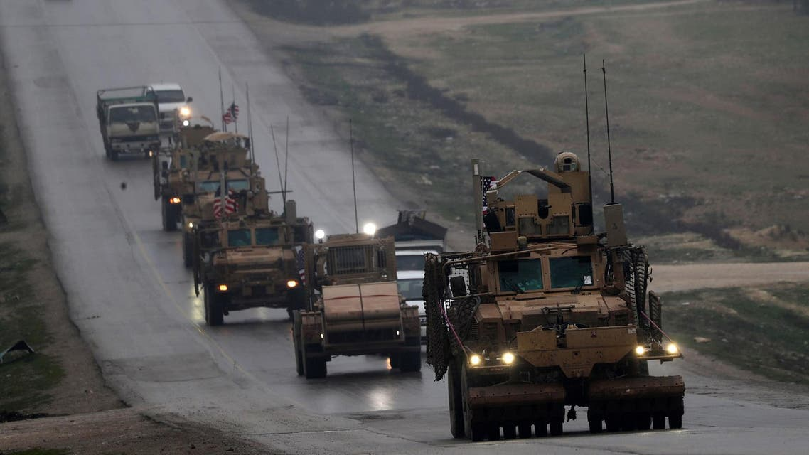 Russian military police have begun patrolling around the Syrian city of Manbij, following the US's announcement to pull troops out of Syria. (File photo: AFP)