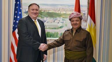 بومبيو يصل إلى أربيل ويجتمع مع مسؤولين أكراد