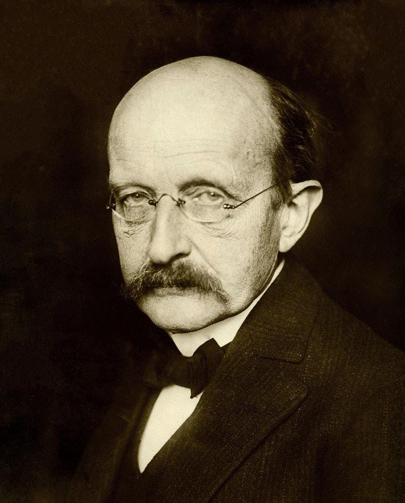 صورة لعالم الفيزياء الألماني ماكس بلانك
