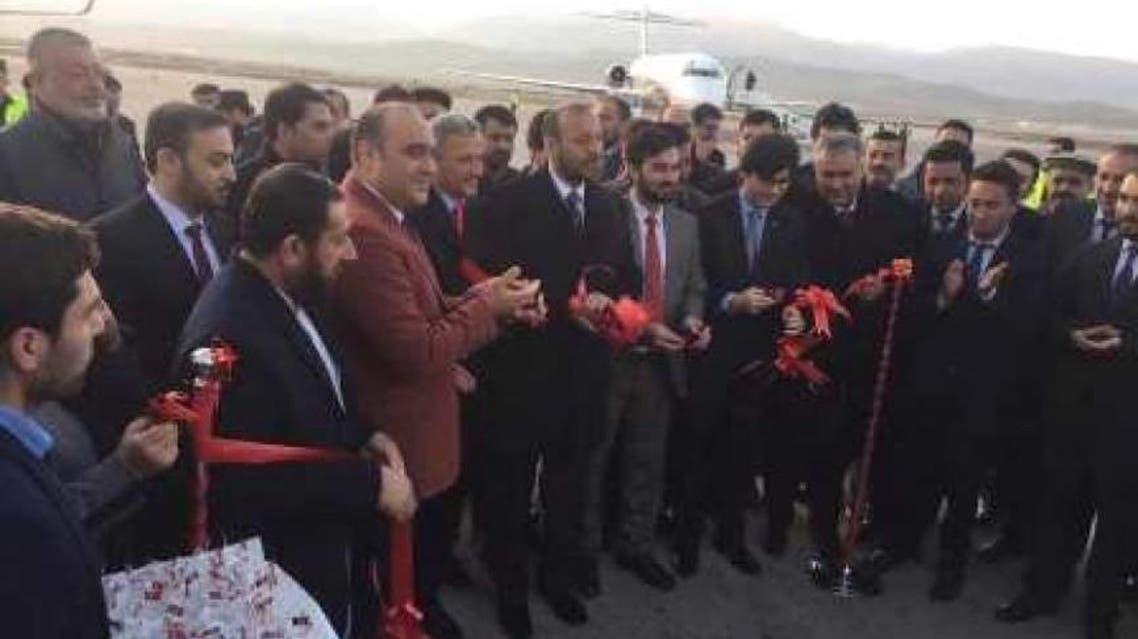 افتتاح دهلیز هوایی تجاری بلخ - اروپا
