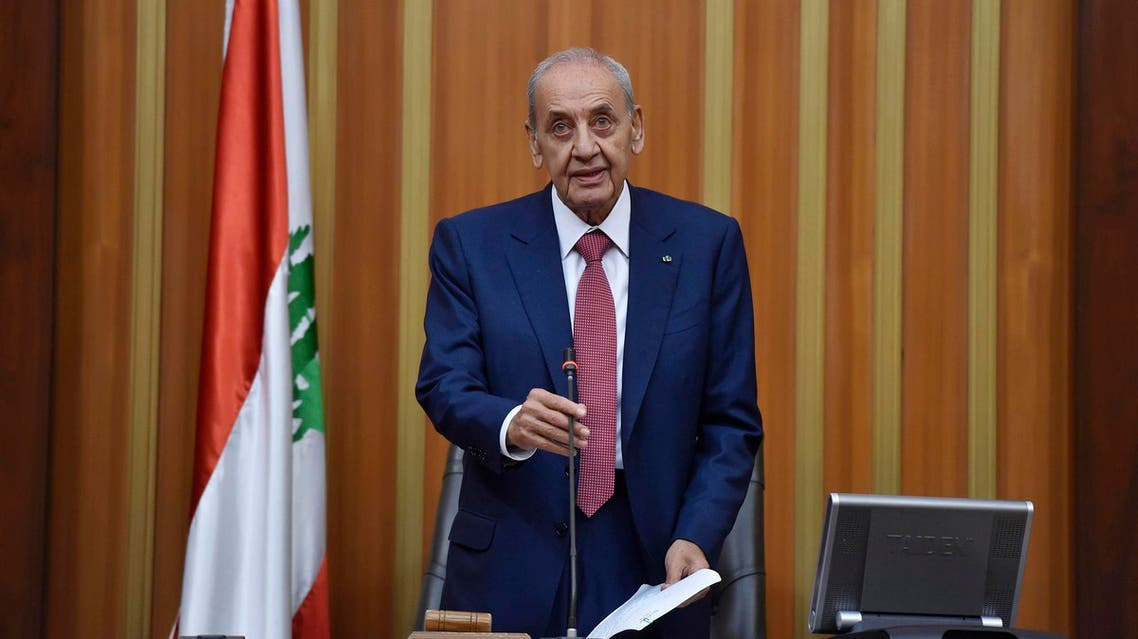 Berri called to postpone an Arab Economic Summit due to take place this month in Beirut, because Lebanon failed to agree over a new government. (File photo: AP)