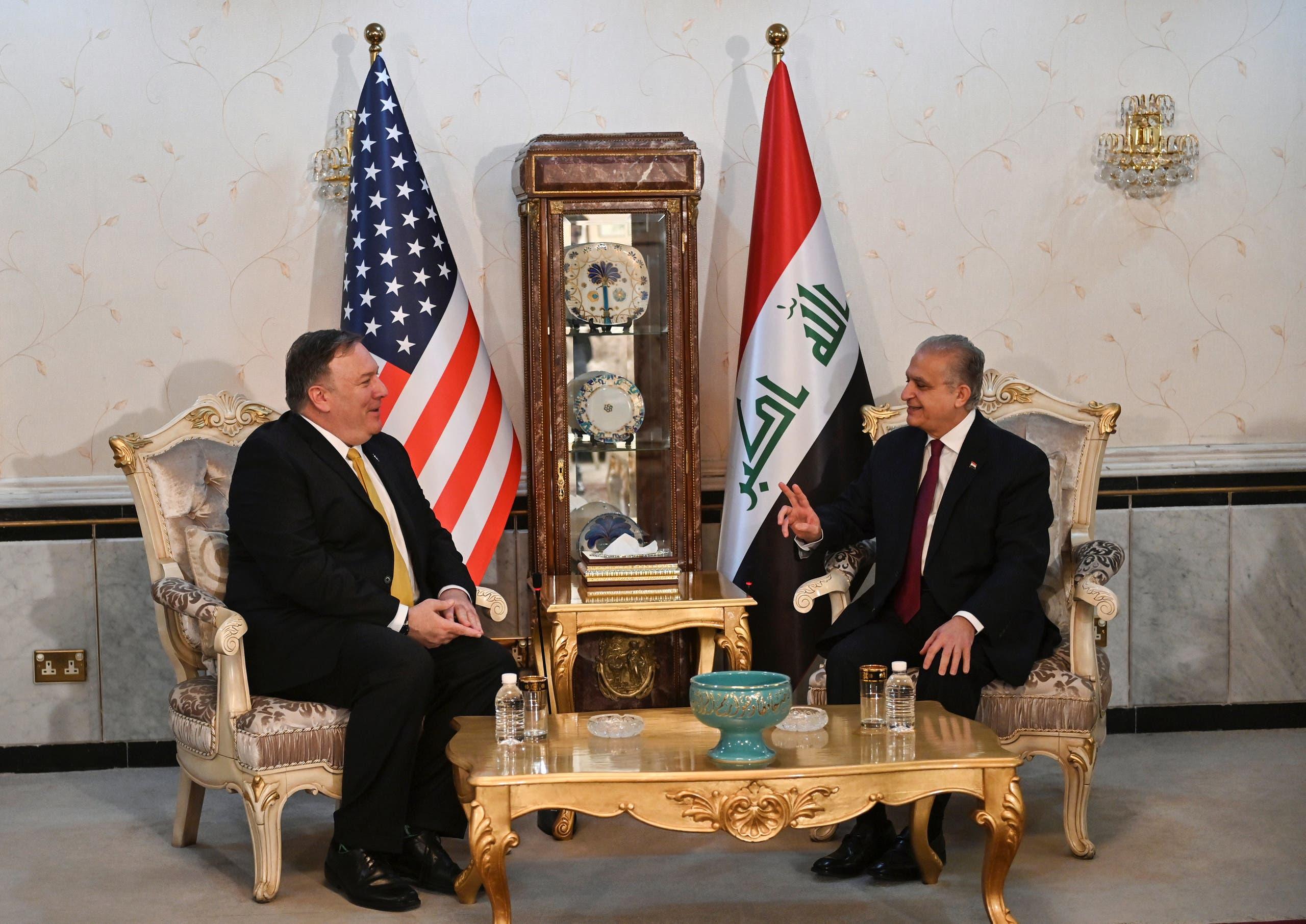 وزيرا الخارجية العراقي والأميركي