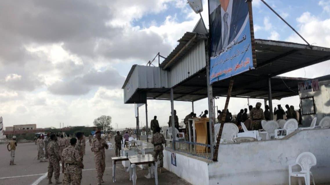 شاهد بالصور الهجوم الحوثي على قاعدة العند