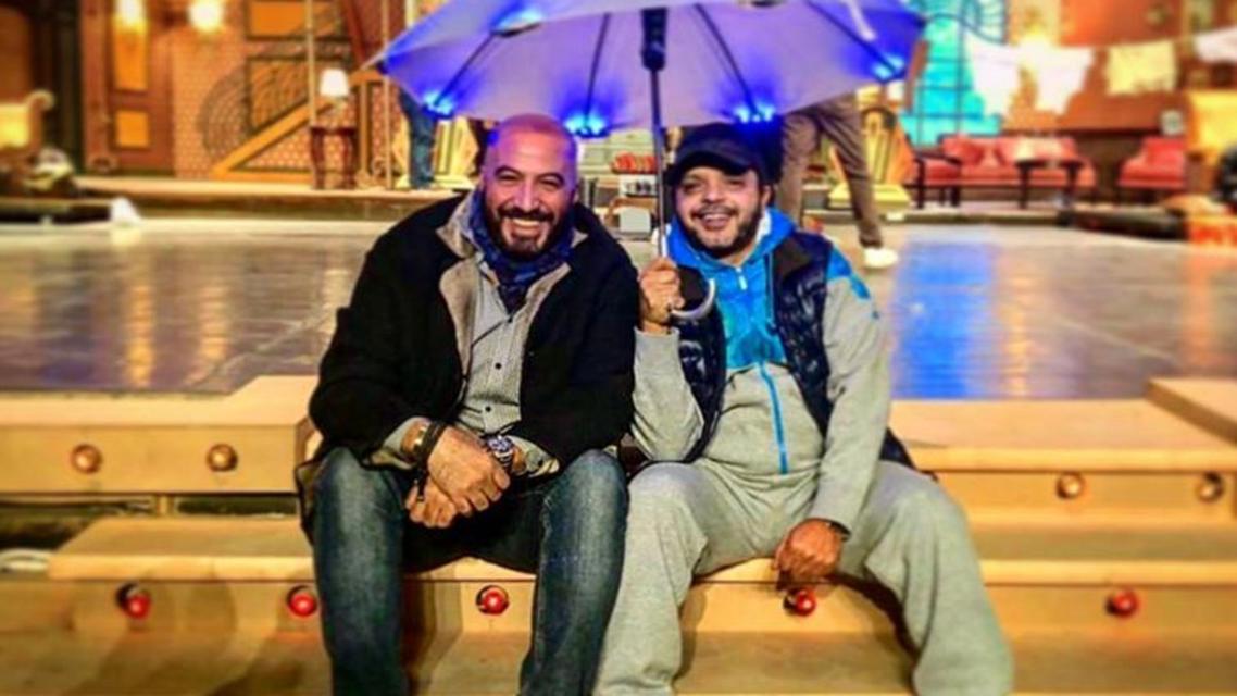 هنيدي والمخرج مجدي الهواري