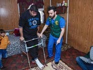 """""""مركز الملك سلمان"""" يعالج مرضى مخيم الزعتري في منازلهم"""