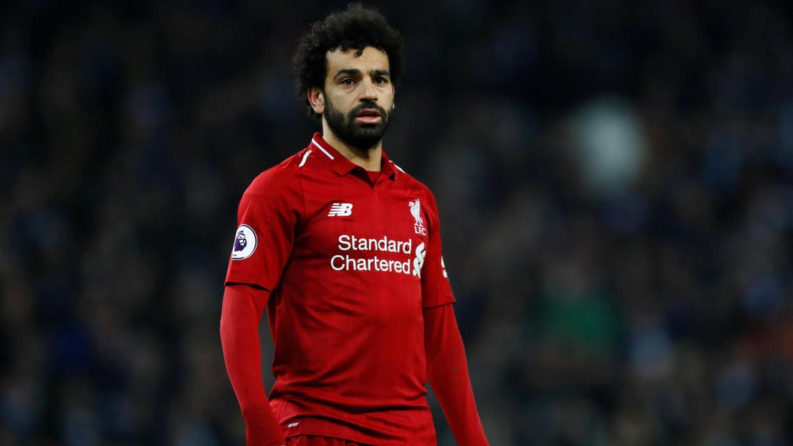 Mohamed Salah during Liverpool's match against Manchester City on January 4, 2018. (Reuteres)