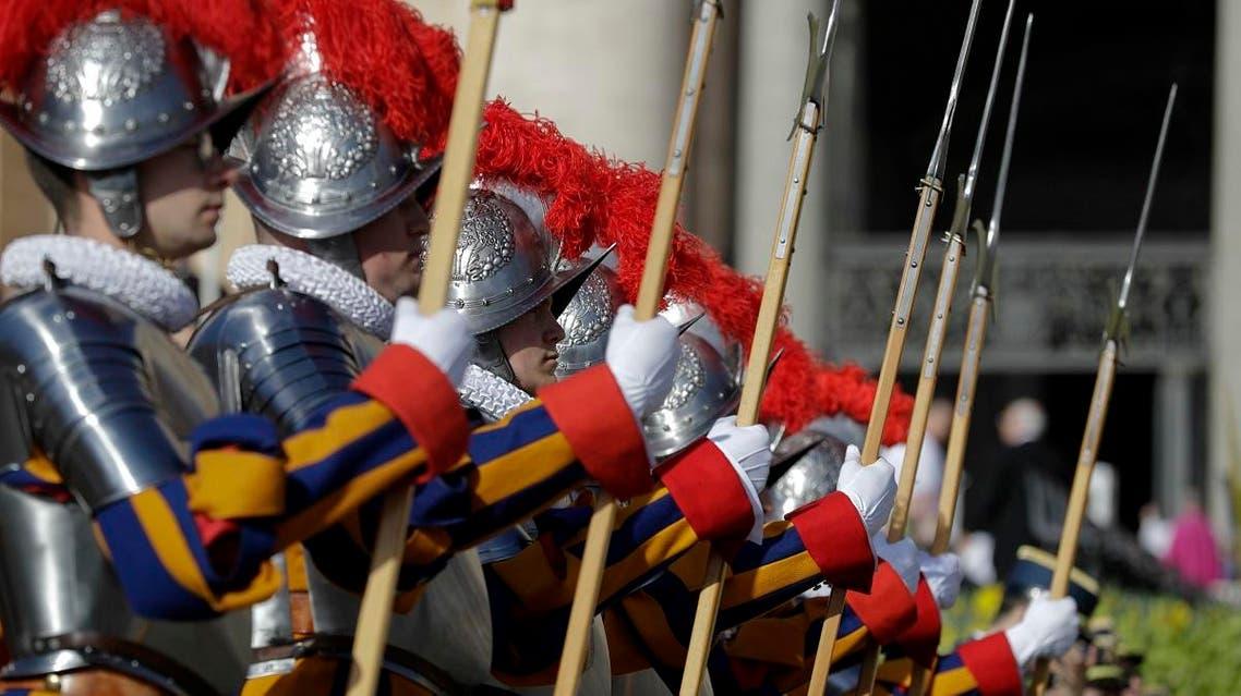 Vatican Swiss Guards (AP)