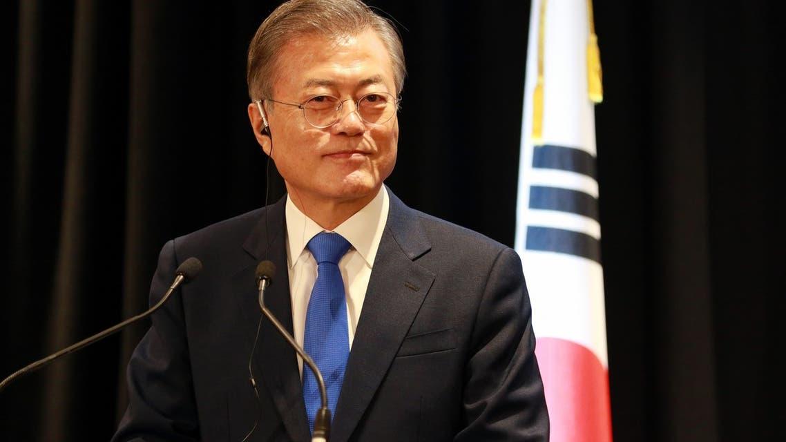 رئيس كوريا الجنوبية مون جاي-إن