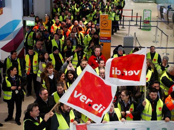 إلغاء أكثر من 600 رحلة بعد إضراب أمني في مطارات ألمانية
