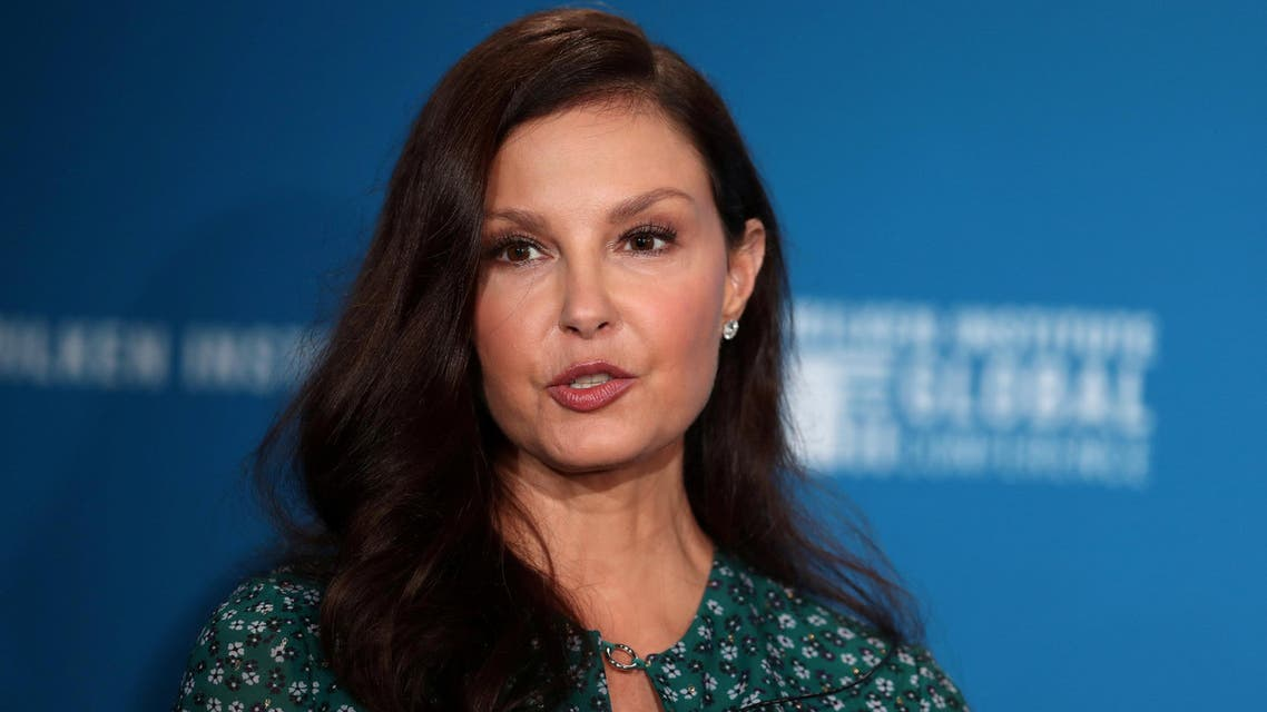 Ashley Judd speaks at the Milken Institute's 21st Global Conference in California on April 30, 2018. (Reuters)