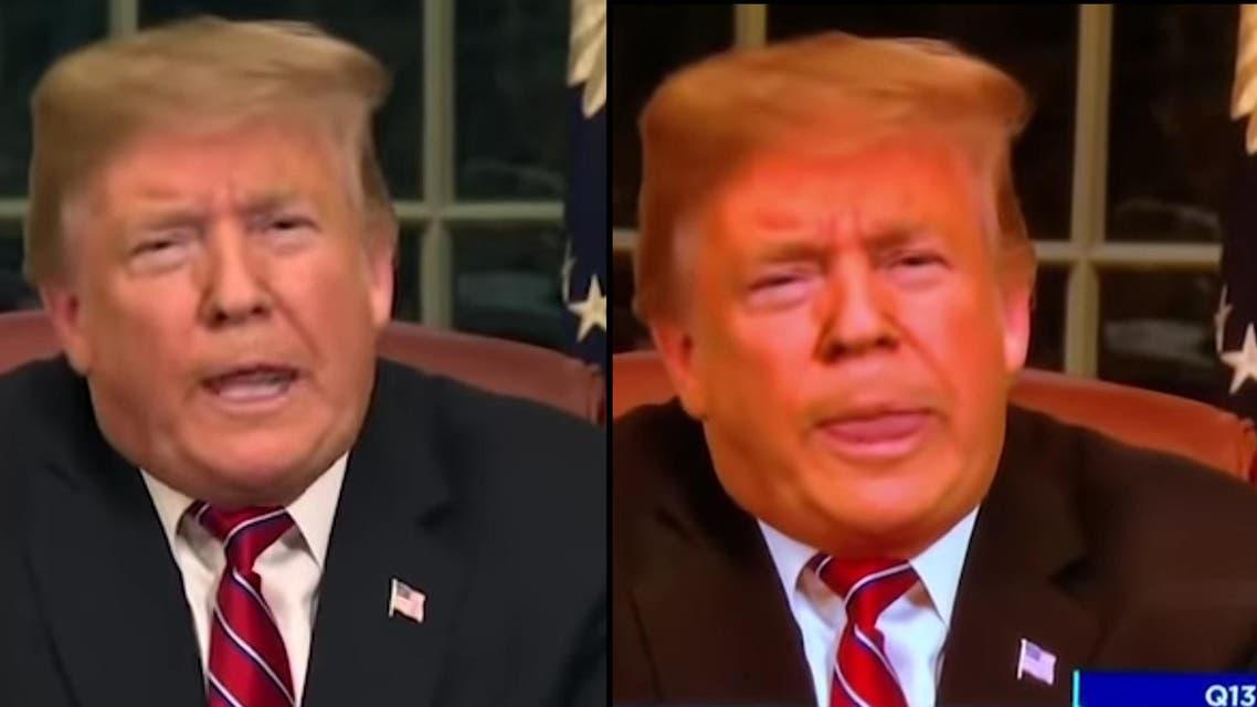 Orange trump