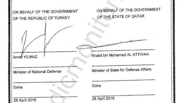 الاتفاق السري: قطر لا تستطيع محاسبة أي جندي تركي بأرضها