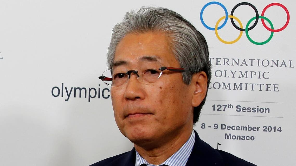 Tsunekazu Takeda, President of the Japanese Olympic committee, attends a news conference during the 127th International Olympic Committee (IOC) session in Monaco on December 8, 2014. (Reuters)