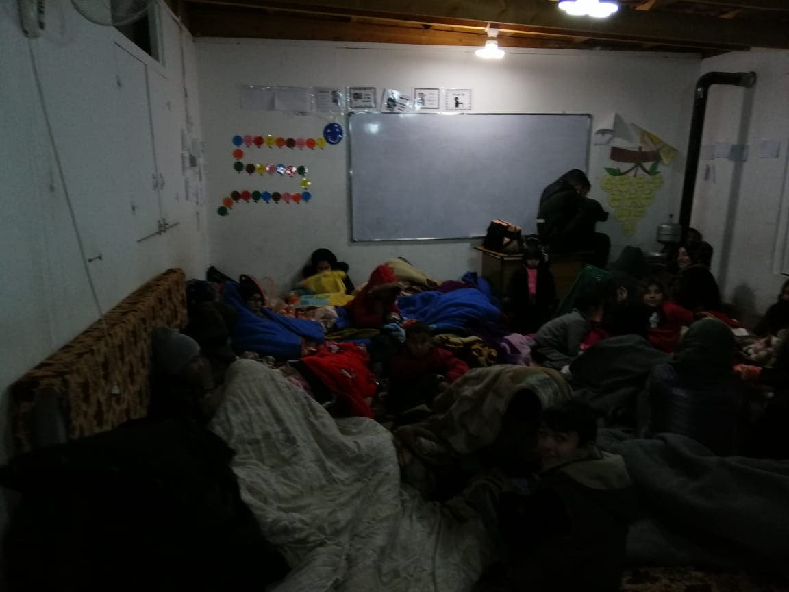 syrian families in sawa centers