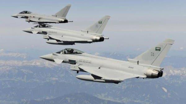 طائرات التحالف تقصف تعزيزات ميليشيات الحوثي في حجة